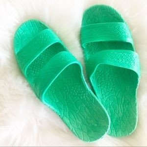 Green Jesus sandals BRAND NEW